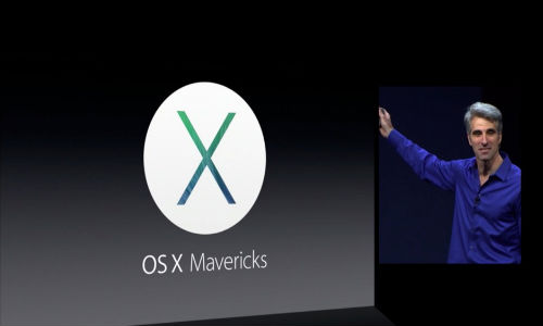 Apple Mac OS X 10.9 Mavericks Unveiled At WWDC 2013