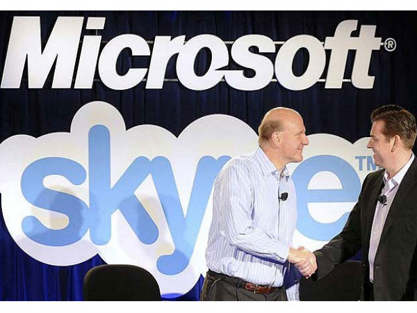 Microsoft acquired Skype