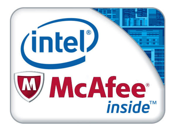 Intel McAfee Seal Deal