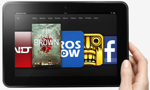 Amazon Kindle Fire HD Tablets Finally Coming to India