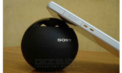 Sony SRS-BTV5 Wireless Speaker System - Hands On Review