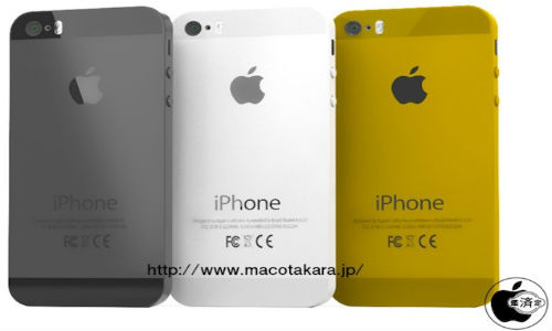 iPhone 5S To Be Made Available In Golden Color