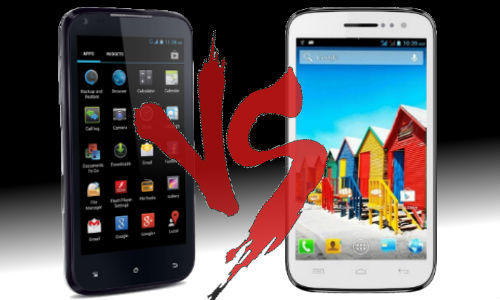 iBall Andi 4.5d Quadro vs Micromax Canvas HD A116