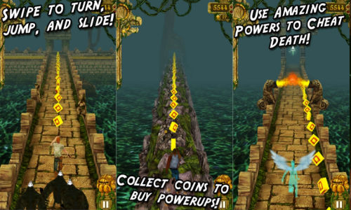 Temple Run Updated To Support Windows Phone 8 Device With 512 MB RAM