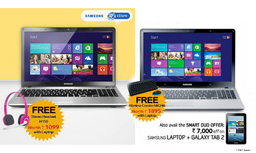Samsung Offer: Get A Free Stereo Headset H150 worth Rs 1,099 On Laptop
