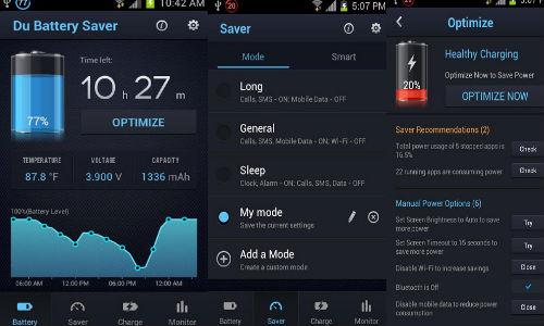 Du Battery Saver App Surpasses 10 Million Users on Google Play