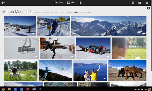 Google+ Photos App Released For Chromebook Pixel