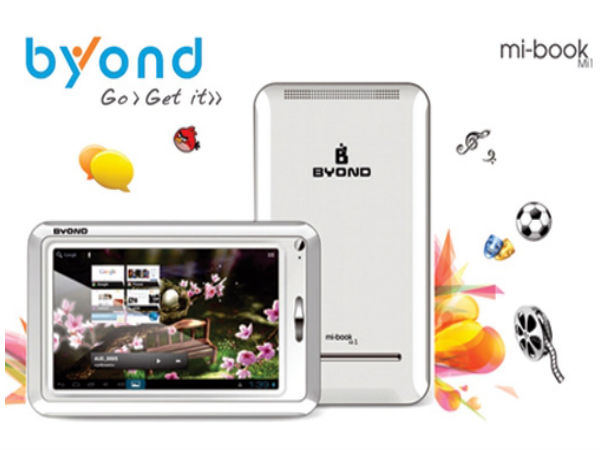 Byond Tech Mi1 3D Tablet: