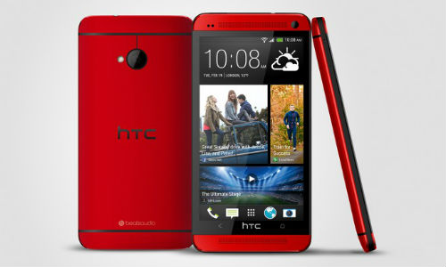 HTC One Now Available In Sizzling Glamour Red