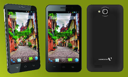 Videocon A55HD Phablet with Android Jelly Bean and Quad ...