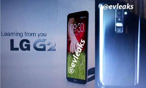 LG G2 surfaces online with Slim Profile and Volume Button At its Back