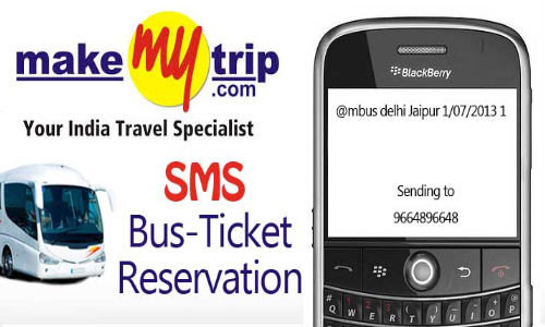 MakeMyTrip Now Allows Users To Book Bus Tickets Via SMS