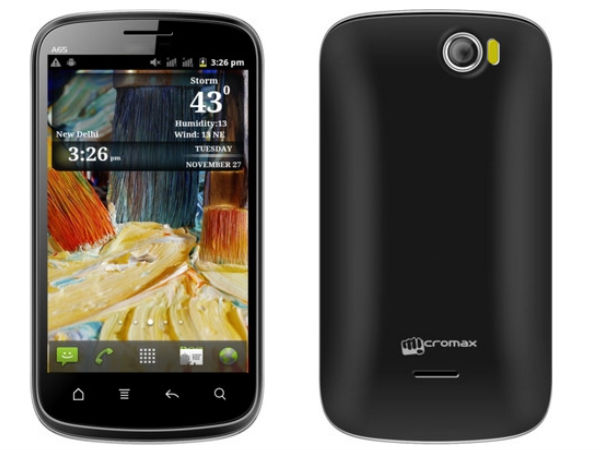 Micromax A65 Smarty: