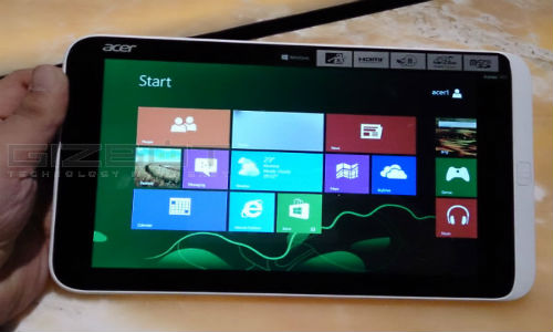 Acer Iconia W3 : First Look