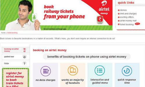 Airtel Announces Free Roaming And Offers Mobile Train Ticket Booking