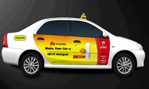Huawei Partners With Airtel To Launch Wi-Fi Service For EasyCabs