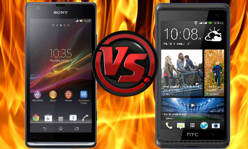 HTC Desire 600 vs Sony Xperia SP: Mid Range Flagships At War