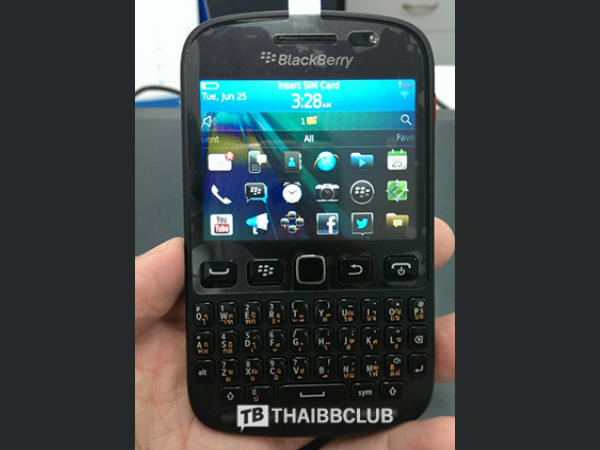 BlackBerry 9720 Leaked Image 2
