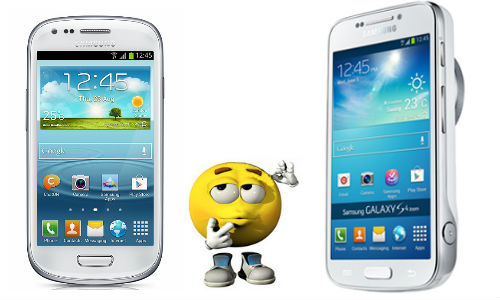 Samsung Galaxy S4 Zoom vs Galaxy S4 Mini: Both Coming on July 15