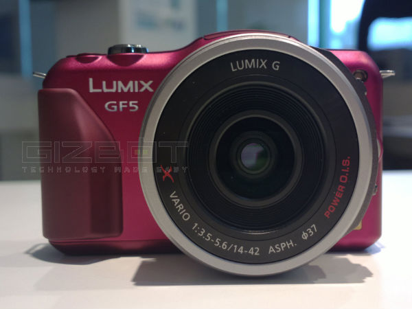 Panasonic G5 Front Face