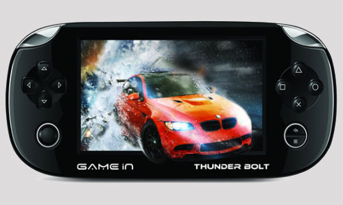 GameIn Thunder Bolt: Mitashi Launches Portable Android Game Console
