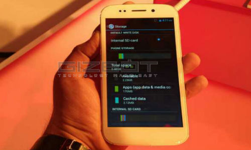 Micromax Canvas 4 Hands On: First Look