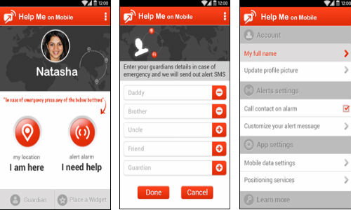 Help Me On Mobile: Free Android App Launched for Safety of Women