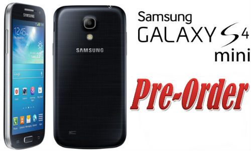 Samsung Galaxy S4 Mini Pre Order Begins at Rs.27,990