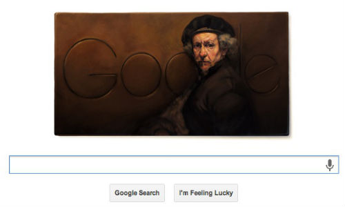 Google Celebrates Artist Rembrandt's 407th Birthday With A Doodle