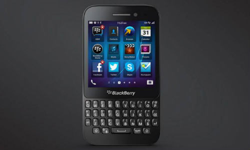 BlackBerry Q5 To Officially Launch in India Today