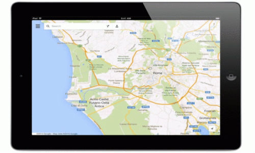 Google Maps For iOS Updated: Brings Support For iPad