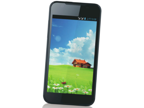 A  phone having 4.5-inch IPS display, quad-core and Android 4.1.2 Jelly Bean inside