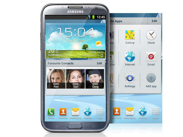 Samsung Galaxy Note 2 Price and Specs
