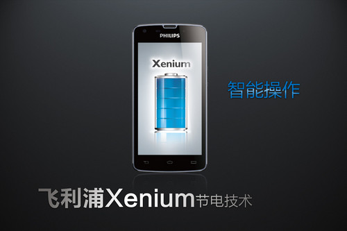 Philips Xenium W8510 Packs 3300mAh Battery and 35 Days of Standby time