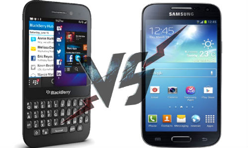 Samsung Galaxy S4 Mini Versus BlackBerry Q5: Which One to Buy?