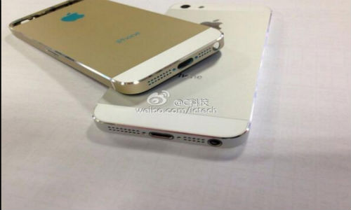 Next Gen iPhone 5S to Dazzle in Gold color: More Images Surface Online