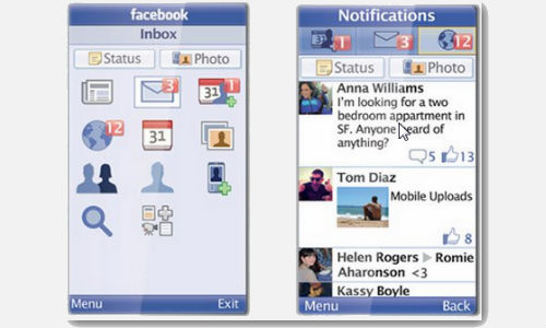 Facebook App For Feature Phones Hits The 100 Million User Mark