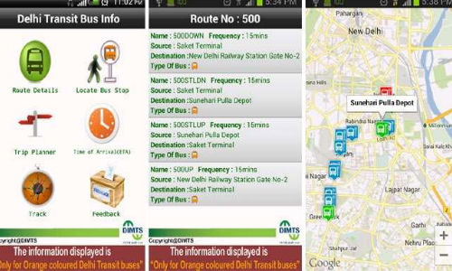 Delhi Transit Bus Info app To Make Things Easy For Bus Commuters