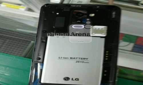 LG G2 Update: Reveals 2,610mAh Removable Battery and More