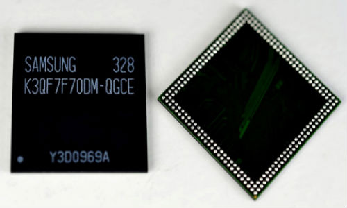 Samsung Electronics Announced Mass Production of 3GB RAM Chip