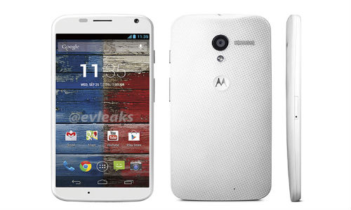 Moto X Leak Update: Leaked Image Suggests Black and White Variant