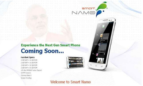 Smart Namo: Narendra Modi fans To Launch Android Smartphone