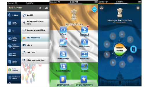 Ministry of External Affairs Launches New App For Android And iOS