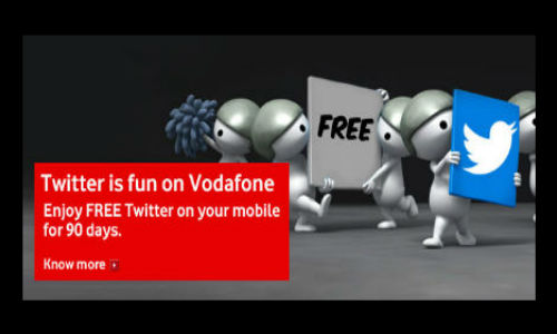 Twitter Now Free to All Vodafone Postpaid and Prepaid Users In India