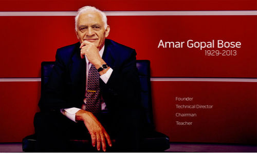 Amar Bose, Founder of Bose Corporation Passes Away at 83