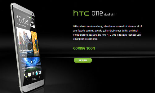 HTC One Dual SIM Coming Soon to India