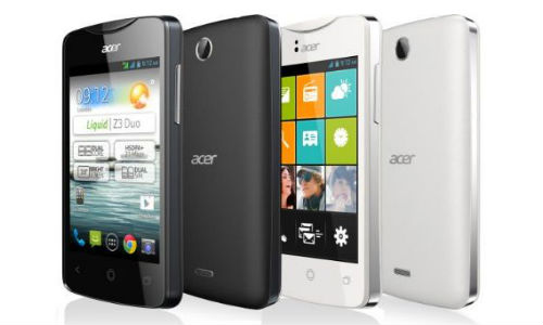 Acer Liquid Z3 Announced With 3.5 Inch Display And Android 4.2 OS
