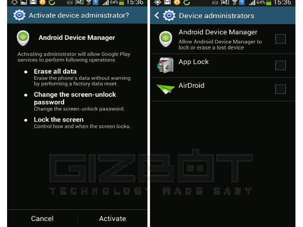 Android Device Manager Starts Rolling Out in India [PICTURES]