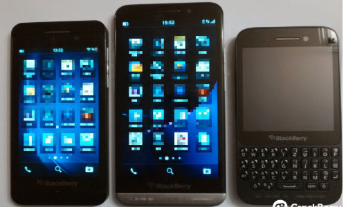BlackBerry Z30 Leaks Alongside Z10 and Q5
