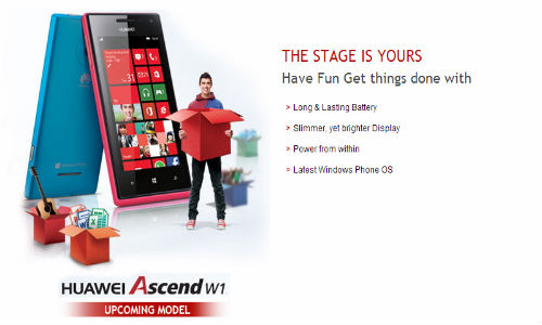 Huawei Ascend W1 Gets Listed Online: Nokia Lumia 520 Rival Coming Soon